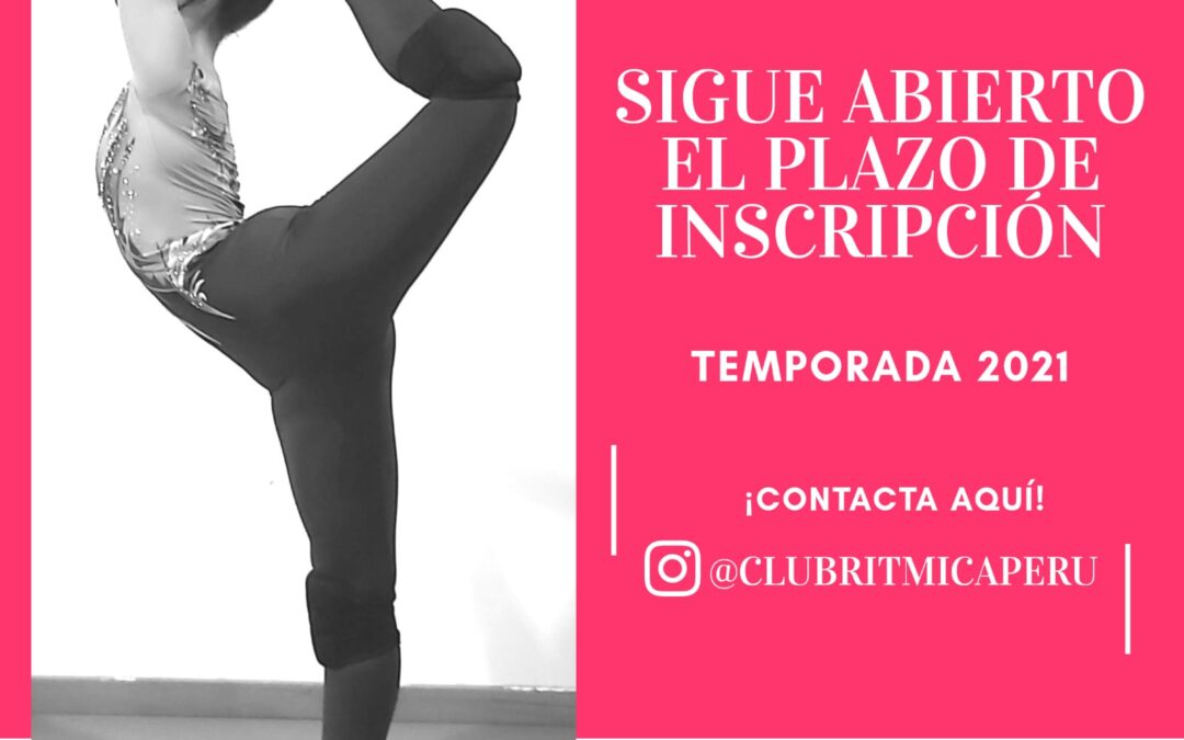 Plazas disponibles Gimnasia Rítmica